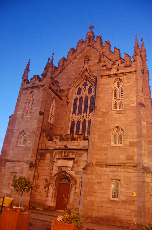 Dublin Castle by Night