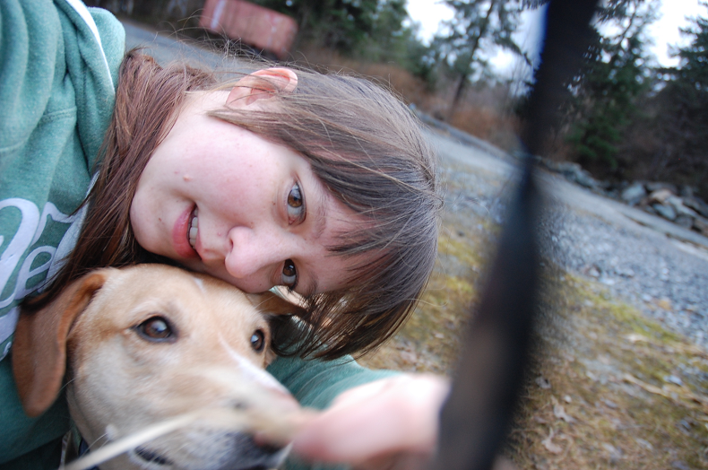 ...because a good selfie with the dog is almost always, certainly a terrible idea!